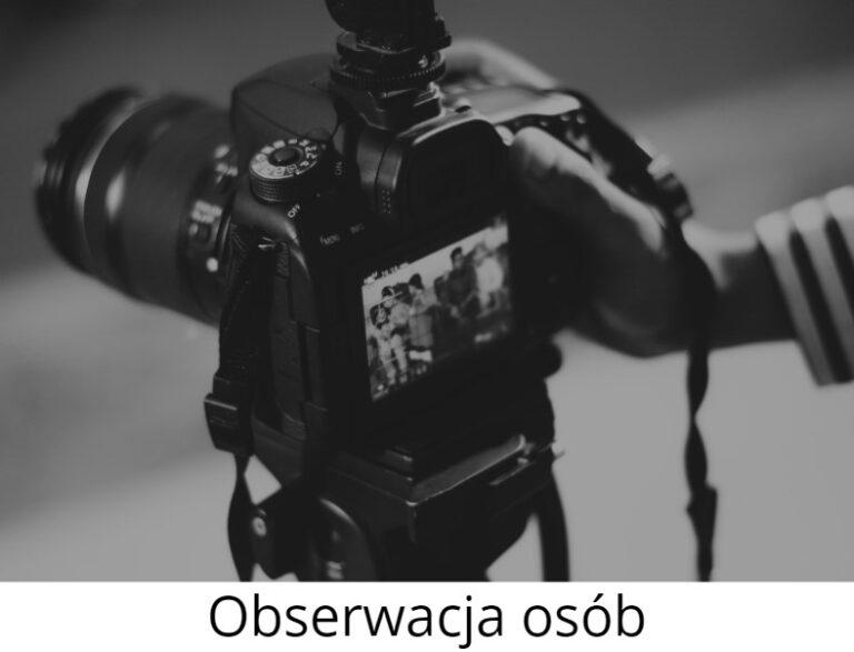 Obserwacja osób